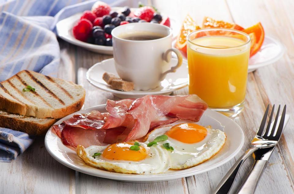 Protein in breakfast